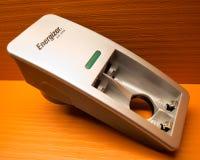微蓄电池充电器 免版税图库摄影