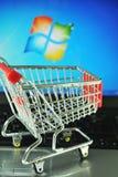 微软视窗 免版税库存照片