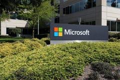 微软总部 免版税库存图片