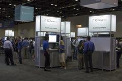 微软TechEd会议2012年 库存图片