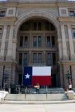 德克萨斯的选择前的抗议 免版税图库摄影