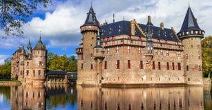 德哈尔城堡,荷兰 免版税图库摄影