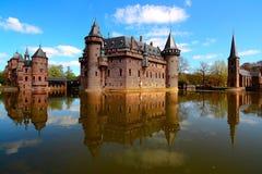 德哈尔城堡, Netherland 免版税库存图片