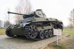德国中型油箱T3从二战 库存图片