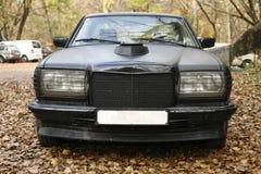 德国人奔驰车E班的汽车W123 免版税库存图片