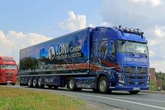 德国人富豪集团FH Gmbh Loni展示的卡车  库存图片