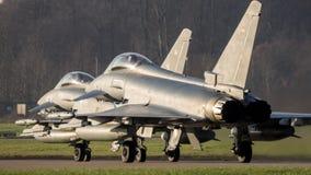 德国人空军队台风战斗机喷气式歼击机 免版税库存照片