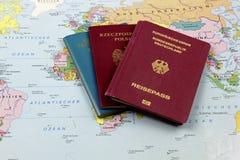 德国人血统移出境者 免版税库存图片