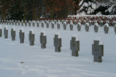 德国人CHILDRENï ¿ ½ S集体坟墓 库存照片