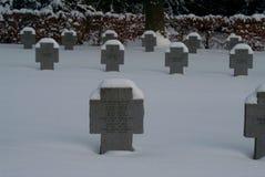 德国人CHILDRENï ¿ ½ S集体坟墓 库存图片