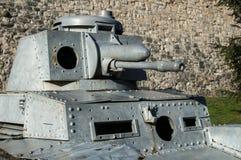 德国人Panzer II第二次世界大战轻型坦克 免版税库存照片