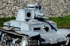 德国人Panzer II第二次世界大战轻型坦克贝尔格莱德军事博物馆塞尔维亚 免版税图库摄影