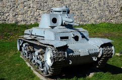 德国人Panzer II第二次世界大战轻型坦克贝尔格莱德军事博物馆塞尔维亚 免版税库存图片