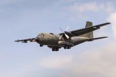 德国人Transall C-160军用飞机 免版税库存照片