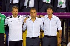 德国全国足球队员经理低的约阿希姆 库存图片