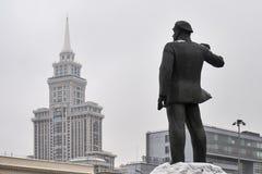 德国共产主义厄恩斯特萨尔曼的纪念碑在莫斯科 库存图片