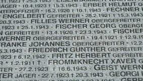 德国军事纪念公墓在俄罗斯 影视素材