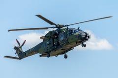 德国军事运输直升机, NH 90 库存图片