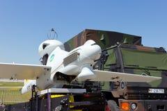 德国军队UAV寄生虫 免版税库存照片