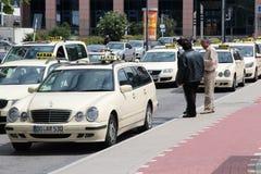 德国出租车 免版税库存照片