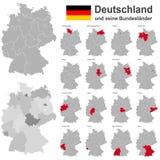 德国和联邦政府 库存例证