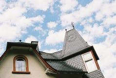 德国咖啡馆之家 免版税库存照片