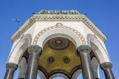 德国喷泉在苏丹Ahmet广场,伊斯坦布尔 免版税库存照片