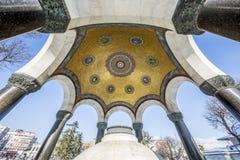 德国喷泉在苏丹Ahmet广场,伊斯坦布尔 免版税图库摄影