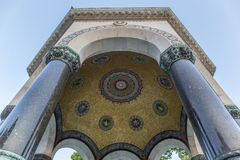 德国喷泉在Sultanahmet广场 免版税库存图片