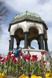德国喷泉 免版税库存图片