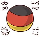 德国国家球 库存例证