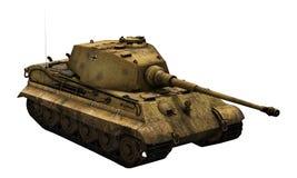 德国坦克'Tiger国王' 向量例证