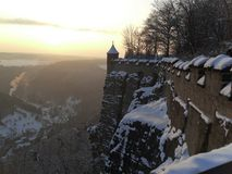 德国堡垒 免版税库存图片
