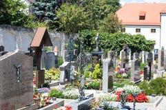 德国墓地 免版税库存照片