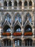 德国大厅慕尼黑新的城镇 免版税库存照片