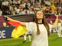 德国女孩 库存照片