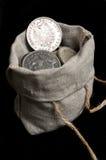德国德国政府的银五马克 免版税图库摄影