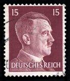 德国德国政府邮票从1942年 库存图片