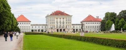 德国慕尼黑nymphenburg宫殿 免版税库存图片