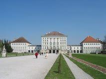 德国慕尼黑nymphenburg schloss 免版税库存照片