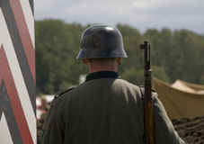 德国战士wwii 免版税库存图片