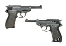德国手枪设计1938年 免版税库存照片