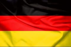 德国旗子背景 免版税库存图片
