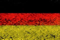 德国旗子难看的东西背景 免版税库存照片