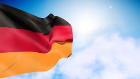 德国旗子 影视素材