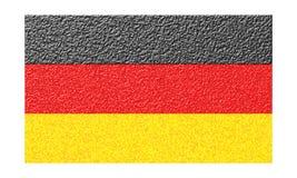 德国旗子 库存例证