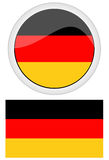 德国旗子 向量例证