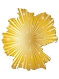德国映射 免版税图库摄影