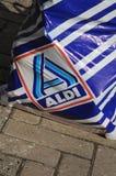 德国杂货链子阿尔迪 库存照片