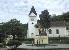 德国村庄在巴西 免版税库存图片